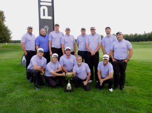 The winning Assistant Professionals squad from the 2016 PING Challenge Cup