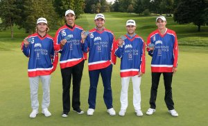 """The Five"" (Photo:Mackenzie Tour - PGA TOUR Canada, Twitter)"