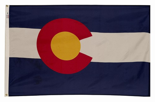 Colorado State 3'x5' Nylon Flag