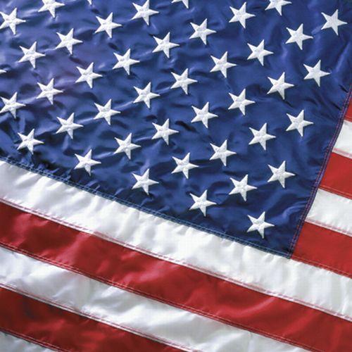Nyl. Sewn US Flag. 3'x5'