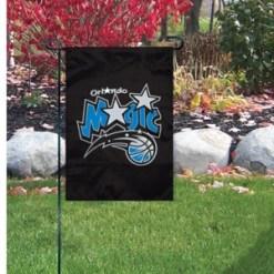 15″ X 10 1/2″ ORLANDO MAGIC MINI GARDEN/WINDOW FLAG