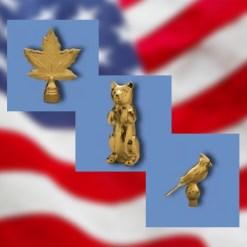 Indoor Flagpole Ornaments
