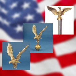 Outdoor Flagpole Toppers