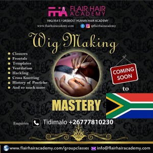 south Africa wig making