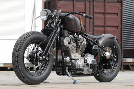 moto bobber rat rod