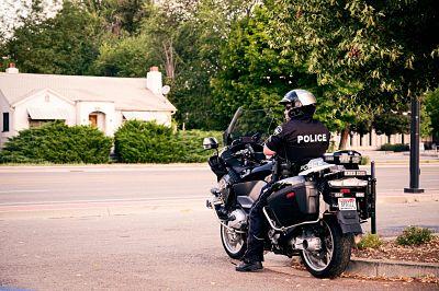 policia motorizado