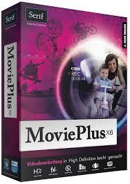 Serif MoviePlus X6 Product