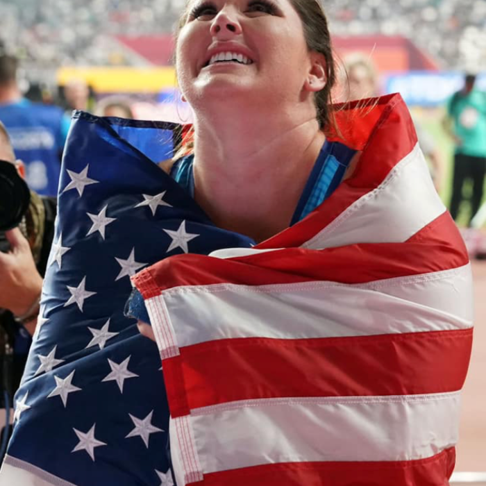 US Olympic hammer thrower DeAnna Price celebrates her historic victory at the 2019 World Championships. DeAnna explains how hammer throw works on this episode of Keep the Flame Alive podcast.