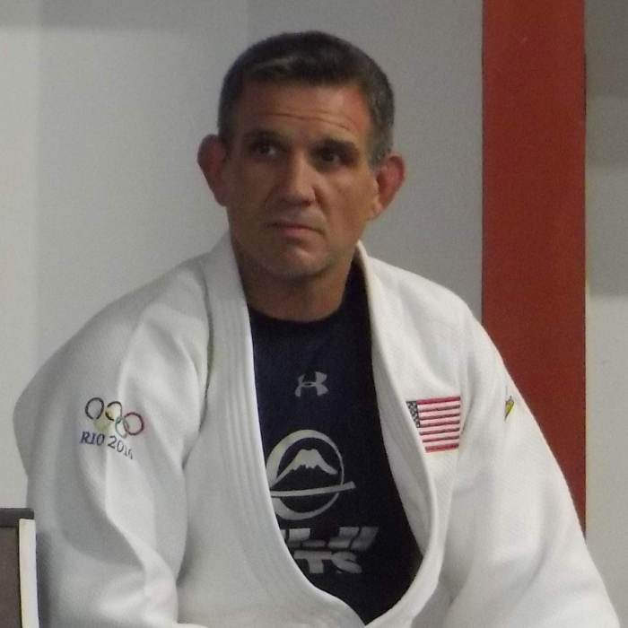 US judo legend Jimmy Pedro.