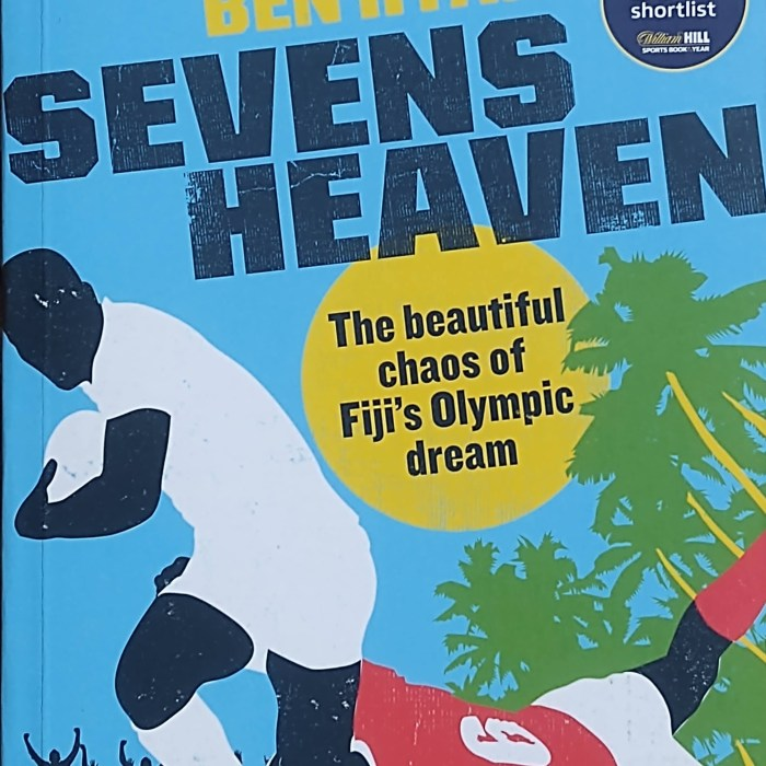 Cover of Sevens Heaven by Ben Ryan - book club selection for Keep the Flame Alive, the podcast for fans of the Olympics and Paralympics.