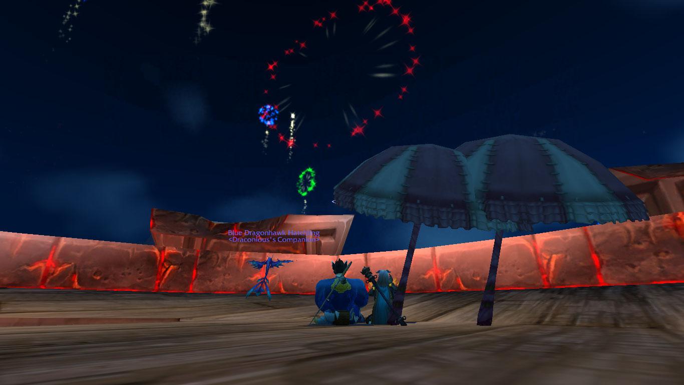Warcraft Fireworks