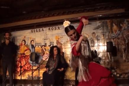 Lisiane Sfair no Concurso do Tablao Villa-Rosa