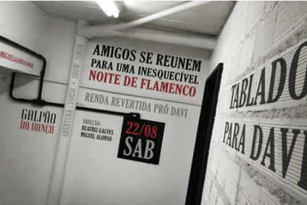 Tablado para Davi Caldeira reúne grandes nomes do Flamenco Nacional no Galpão da Dança