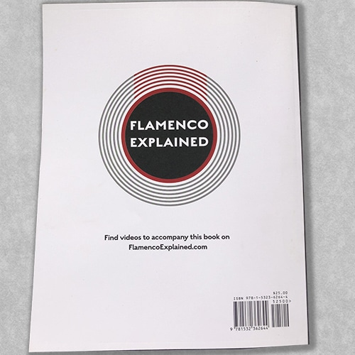 Flamenco guitar method book - Flamenco Explained The Guitarist's Survival Guide - Back Cover