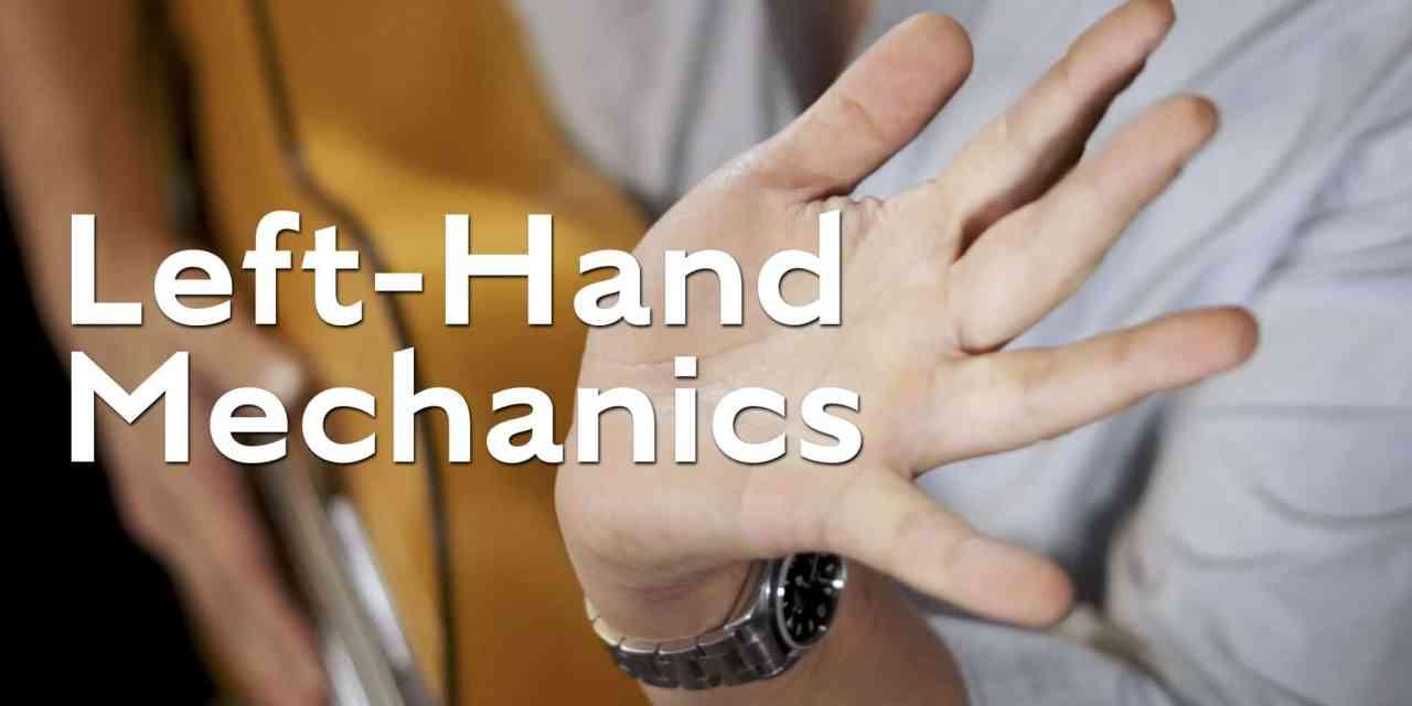 Left-Hand Mechanics for flamenco guitar