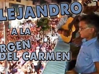ALEJANDRO VIRGEN CARMEN FLAMENCO LACHÓ
