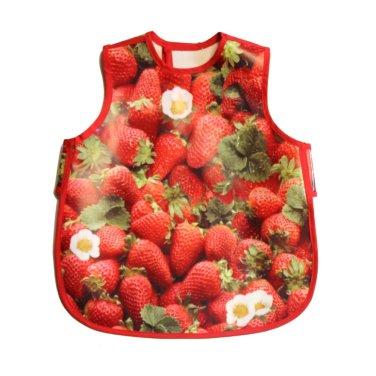 babero-fresas