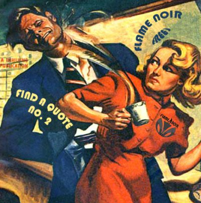 This image features artwork from pulp artist Albert Drake for Exciting Detective Magazine, April, 1942