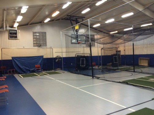 Atlanta Flames Softball Indoor practice facility on Chamblee Dunwoody Rd., off of I-285 just outside of the Perimeter