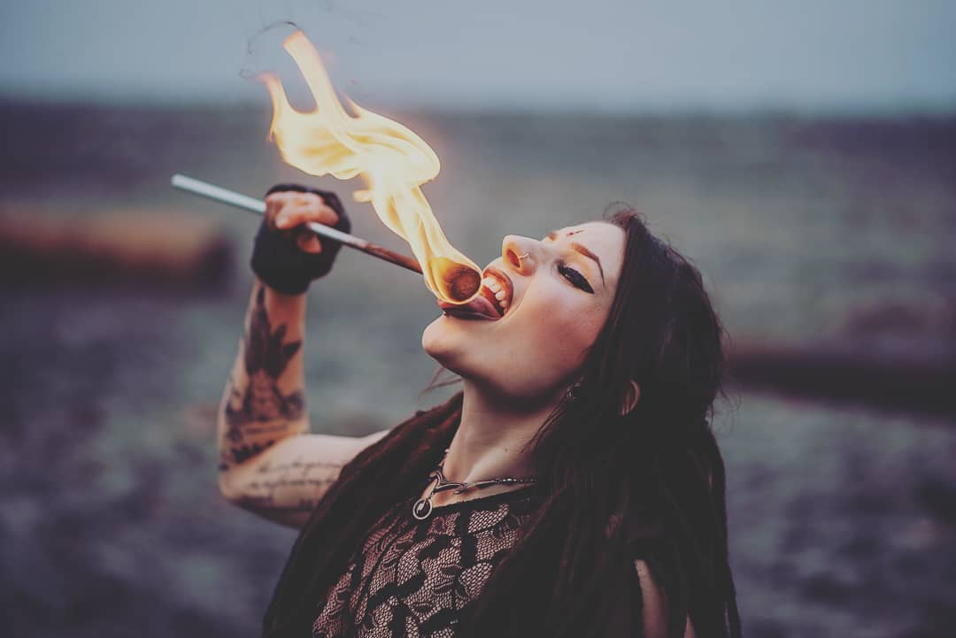 Gamma Ra Vancouver Fire Eater