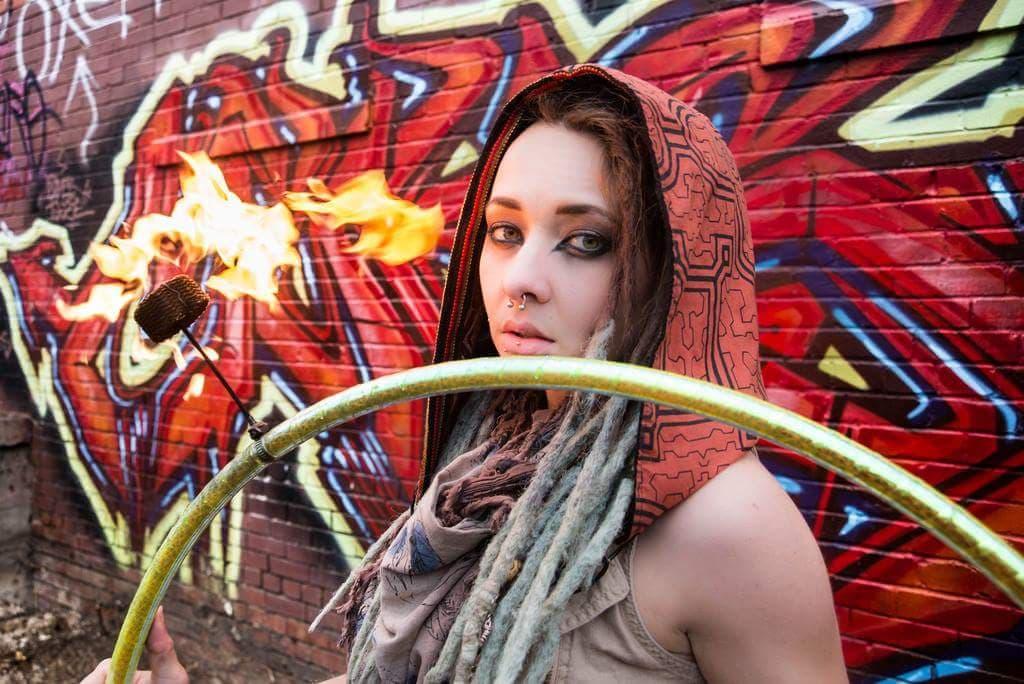 Wichita Fire Performer Circus Entertainment Hire Madison