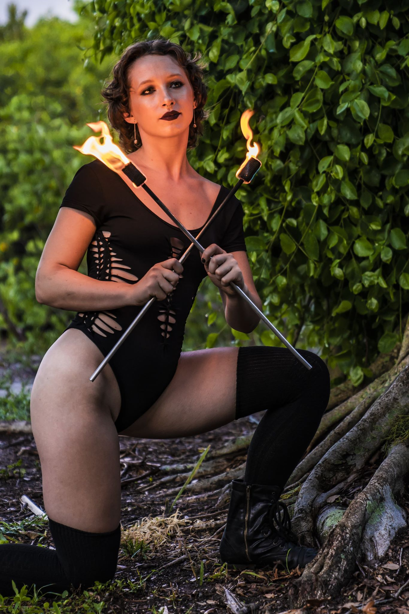 tampa fire performer