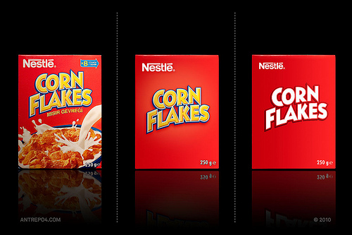 packaging de Cornflakes
