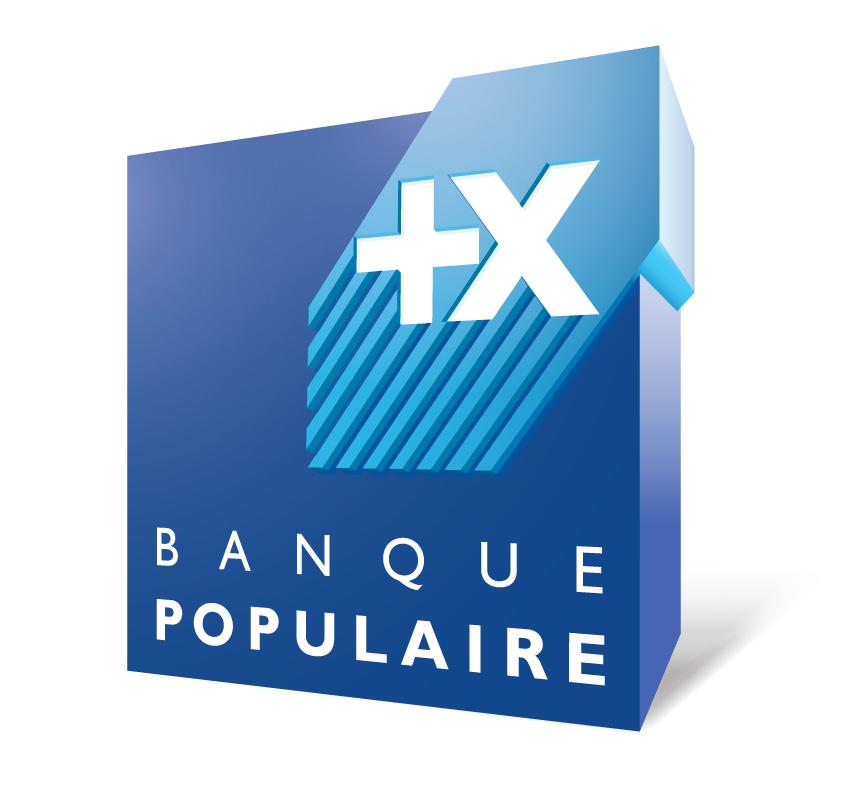 Nouveau logo Banque Populaire