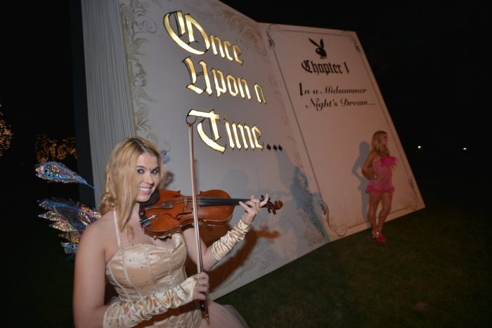 attends the annual Midsummer Night's Dream Party at the Playboy Mansion hosted by Hugh Hefner on August 1, 2015 in Holmby Hills, California.