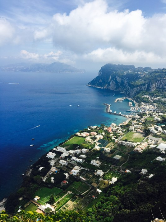 view from Anacapri