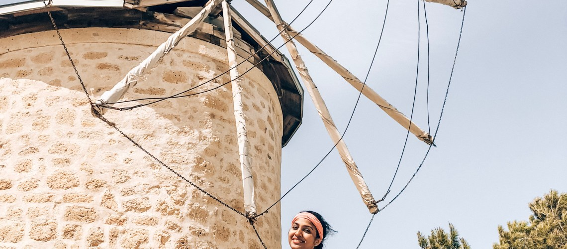 Windmills in Alacati