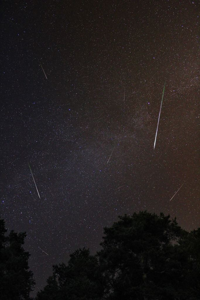 The Meteor showers!