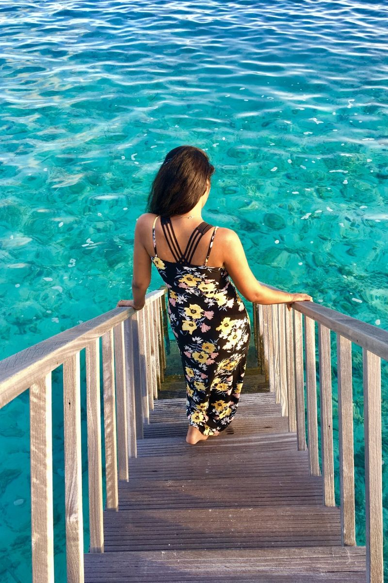 Bhavya vatrapu Maldives blog post