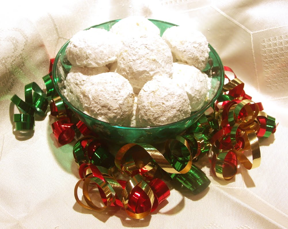 Coconut Orange Snowball Cookies Flamingo Musings