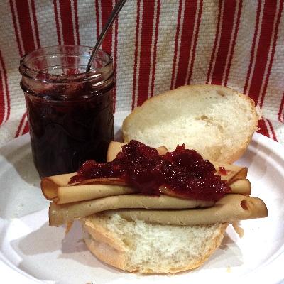 Cranberry Wine Jam