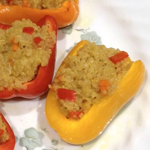 quinoa stuffed pepper