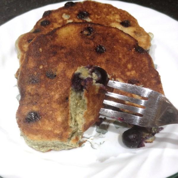 Passover Blueberry Pancakes   Flamingo Musings