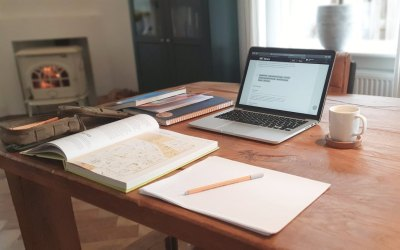 Lessons learned from previous Lockdowns about being organised for successful home schooling and working from home.
