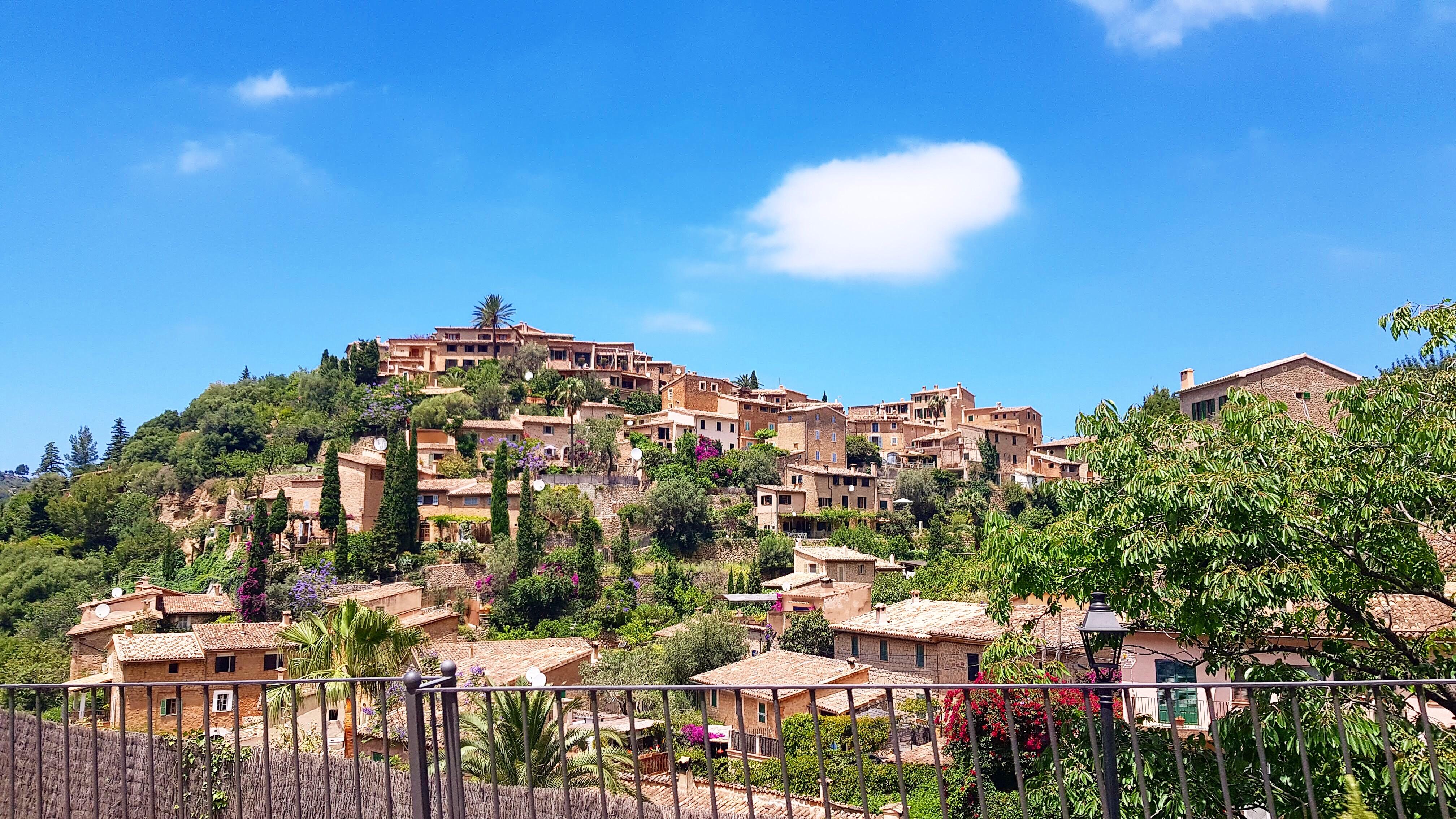 Dorf auf Mallorca