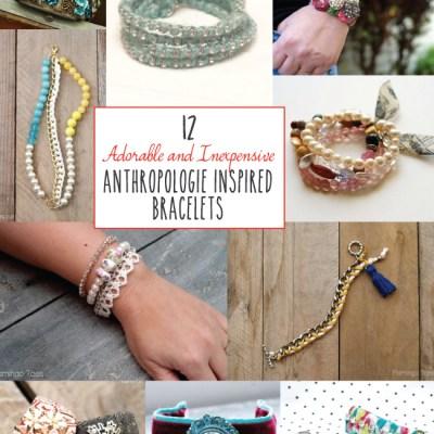 12 Adorable Anthropologie Inspired Bracelets