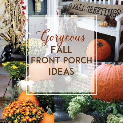 Gorgeous Fall Front Porch Inspiration