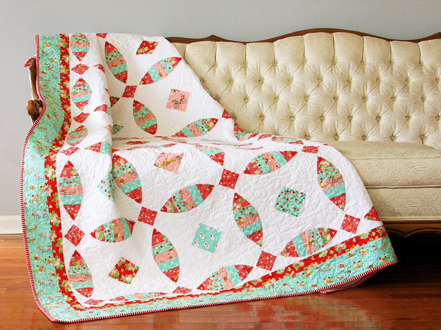 VHS Diamonds and Rings Quilt