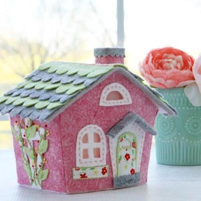 Lil Felt Village Spring Cottage