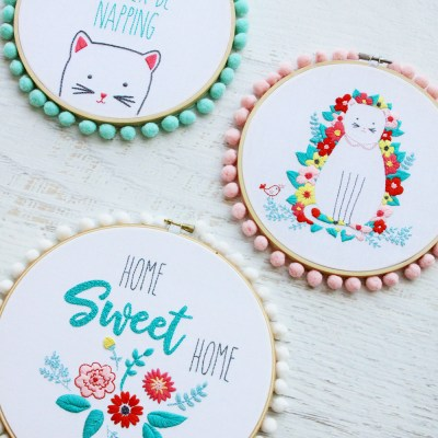 Rose Lane Panel Embroidery Designs