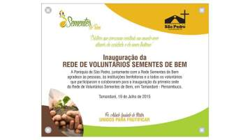 Rede de Voluntarios Sementes de Bem - Instituto Padre Arlindo Laurindo de Matos Junior 016