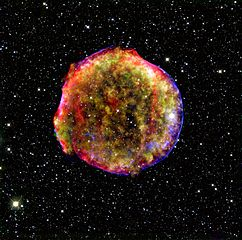 Tycho's Supernova (SN 1572) was a supernova of Type Ia