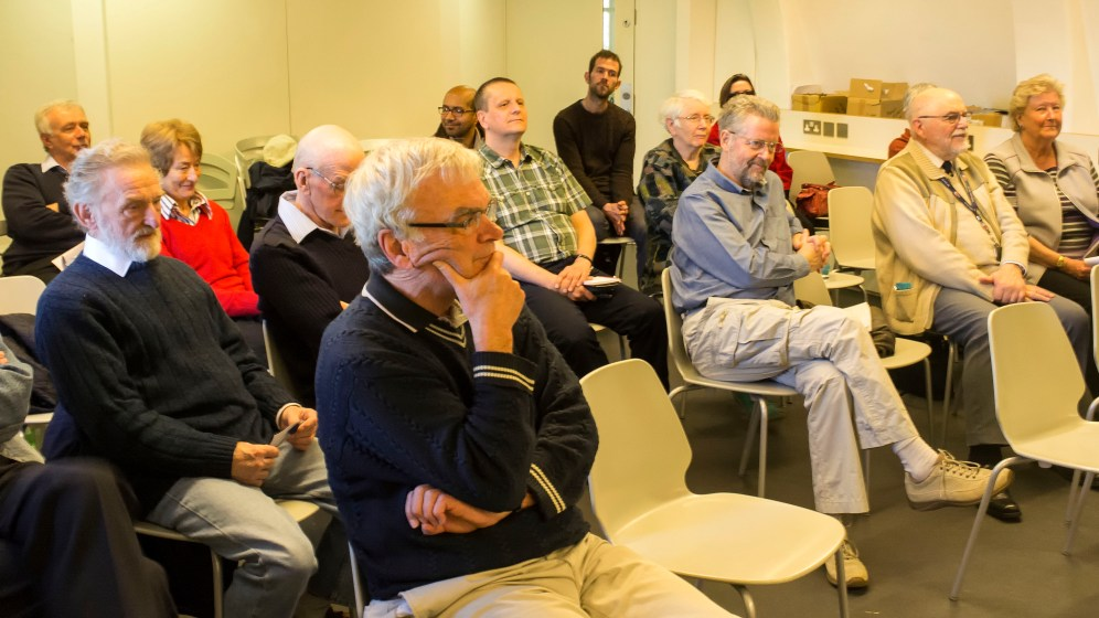 Twenty Flamsteed members attended the first meeting