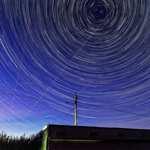Star Trails over Romney
