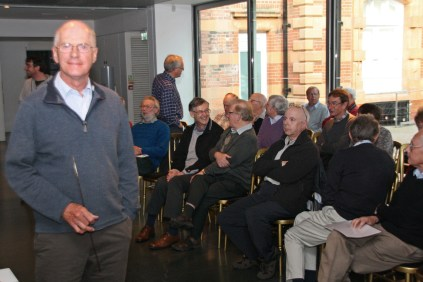 Tim Newling and the Flamsteed audience