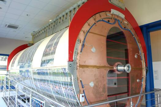 Old particle accelerator